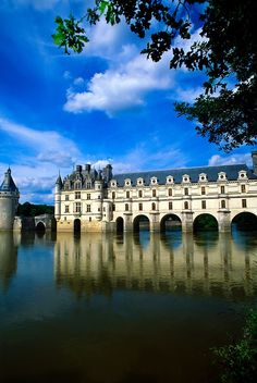 Chateau de Chenonceau, Loire Valley, France