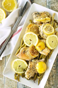 Crockpot Lemon Pepper Chicken with Asparagus