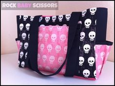 Punk Rock Skull Ss Diaper Bag Ooak Ready To By Rockerbyebaby 104 99 This Is What I Want When And If All Things Baby