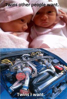 Car meme. Twin turbo Honda civic Muscle car