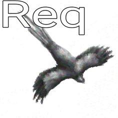 Resplendent Quetzal B/W brush