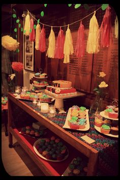 Cake table by OhCarito