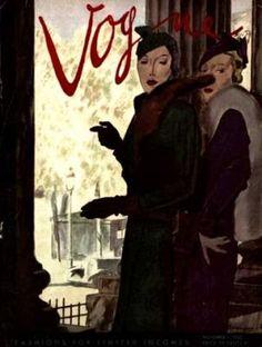 Vintage Vogue magazine covers - mylusciouslife.com - Vintage Vogue covers26.jpg