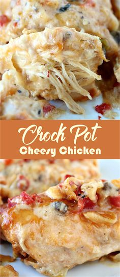 Crock Pot Cheesy Chicken | annsehat.net
