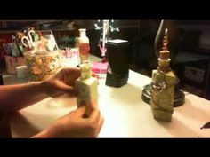 YPP Trash to Treasure Altered Bottle