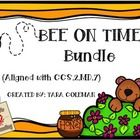 Bee on Time is aligned with CCS.2.MD.7 Tell and write time within 5 minutes, using AM and PM.  Everything you need to help your students master telling time by the end of 2nd grade.  12 SCOOT games, scaffold by hour/half hour, quarter hour, 5 minutes, 5 minutes using AM and PM.  $