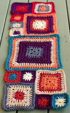 babette blanket - the beginning ༺✿ƬⱤღ https://www.pinterest.com/teretegui/✿༻