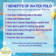 The 7 Benefits of Water Polo! Things i did not know #fitness #waterpolo #healthylifestyle