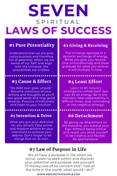 Book Reflection: The Seven Spiritual Laws of Success- Learn about the 7 spiritual laws of success that can help you with your life, work and business. If you are into self-help, personal development or personal growth, this is one of the books to read Manifestation Law Of Attraction, Law Of Attraction Affirmations, Manifestation Journal, Spiritual Manifestation, Spiritual Health, Spiritual Growth, Spiritual Wisdom, Spiritual Movies, Spiritual Psychology