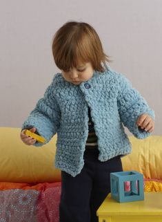 Rock A Bye Baby Hoodie: Quick, Cozy and Sweet! Free pattern.
