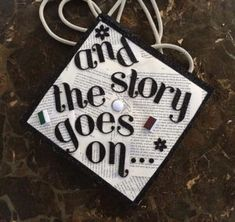 27 And The Story Goes On Bookpage Graduation Cap