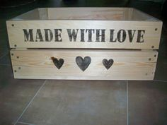 Personalised Crate
