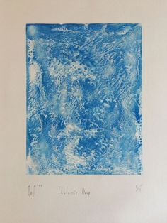 Buy Thalassic Drip, Monoprint by Laurence Jordan on Artfinder. Discover thousands of other original paintings, prints, sculptures and photography from independent artists.
