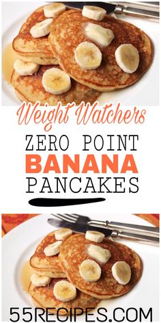 Are you looking for Weight Watchers Pancakes Recipes With Smartpoints? Here& Weight watchers pancakes recipes with points which includes Low to 0 Points Weight Watchers Pancakes Freestyle recipes. Weight watchers banana pancakes are my favorite. Weight Watchers Desserts, Pancakes Weight Watchers, Plats Weight Watchers, Weight Watchers Meal Plans, Weight Watchers Breakfast, Weight Watchers Diet, Weight Watchers Points, Weight Watcher Recipes, Ww Recipes