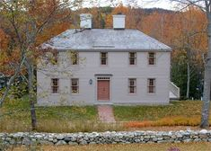 FARMHOUSE – vintage early american farmhouse in historic new england, a mckie roth design.