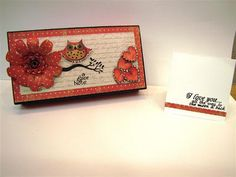 Altered Cricut Box stamped with Owly Hoo stamps by K. Andrew