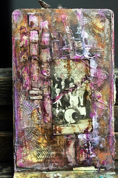 art. journal - mix media