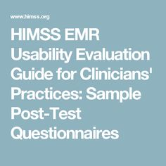 Electronic Health Record Usability Evaluation And Use Case