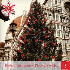 Day 8: Today is December 8, the Immaculate Conception and the day that we traditionally put up decorations. Florence decorates and lights the big tree in Piazza del Duomo on this day. Thanks to @flo79 for getting us into the holiday spirit!