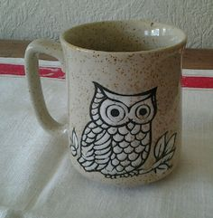 Retro Owl Coffee Mug
