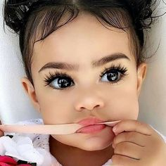 Makeup Geek, Makeup Addict, Eye Makeup, Beauty Makeup, Makeup Guide, Makeup Shop, Hair Beauty, Cute Little Baby, Cute Baby Girl