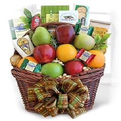Send gourmet fall gift baskets filled with chocolates, cookies, fruits, cheese and more. They're the perfect fall gift for Thanksgiving and Halloween treats! Gourmet Gift Baskets, Gourmet Gifts, Chocolates, Fall Gift Baskets, Basket Gift, Charcuterie Gifts, Harvest Basket, Fruit Gifts, Tea Cookies