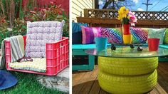 Glöm inte att dekorera trädgården med härliga tyger, krukor och fyndiga möbler. Här är 11 tips på hur du kan pyssla fram din trädgård till en vacker...