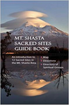 Mount Shasta Sacred Sites Guide Book to the Sacramento River Headwaters, Castle Lake, Heart Lake, Mossbrae Falls, Hedge Creek Falls, Panther Meadow, Castle Crags, McCloud Falls, Burney Falls, Medicine Lake, Pluto Cave, and Stewart Mineral Springs Mount Shasta California, Burney Falls, Sacramento River, Adventure Bucket List, Vacation Spots, Time Travel, Places To See, Spirituality, Footprints