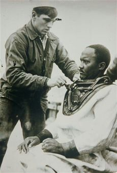 Carl Maxie Brashear was the first African American to become a U.S. Navy Master Diver, rising to the position in 1970.  Service/branch	United States Navy Years of service	1948-1979