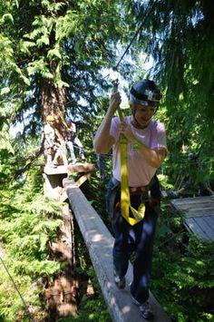 Rainforest Canopy Ropes & Zipline Park | Ketchikan, Alaska