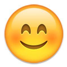 Blushing Smiley Face.