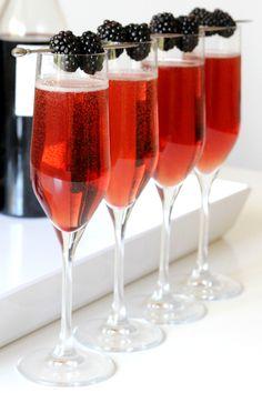 Kir Royale Cocktail Recipe at LuLus.com!