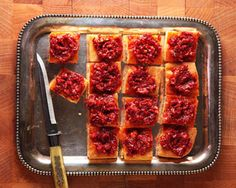 40 Party Perfect Appetizer Recipes: Angeli Caffe's Foccacia