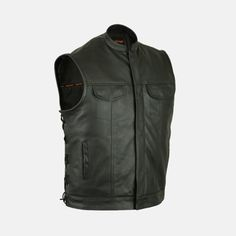 Sons of Anarchy Leather Vest Jackets