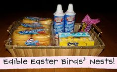 Edible Easter Bird's Nest