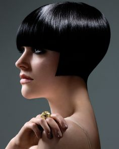 #shiny #condition enhance this short blunt #bob #Hair created by Royston Blythe Hairdressing
