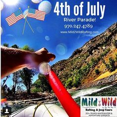 Have some family fun on the Lower Animas River in Durango, Colorado this 4th of July! Reserve your seat today!