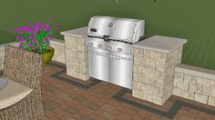 This curvy terrace patio design created a fabulous outdoor living space for our customer in Cleveland, Ohio. Hot tub, fire pit, pergola, grill station and outdoor bar. Pergola Swing, Pergola Patio, Pergola Kits, Pergola Plans, Pergola Ideas, Patio Plans, Modern Pergola, Grill Design, Patio Design