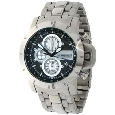 Fossil Men's JR1265 Jake Stainless Steel Watch Fossil. $106.32