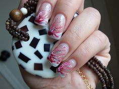 unhas decoradas 24 nails   Flickr - Photo Sharing!