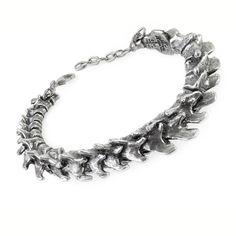 Alchemy Gothic Vertebrae Spine Bracelet