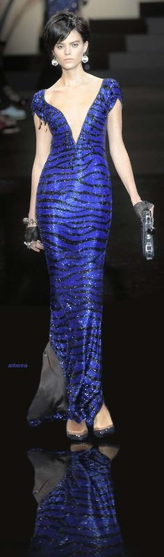 """Giorgio Armani """"It don't mean a thing if it ain't got that Bling"""" said Giorgio Armani's about this collection."""
