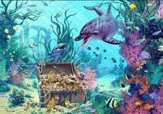 Fantasy Images, Fantasy Art, Wall Art Prints, Poster Prints, Canvas Prints, Mermaid Wall Art, Mermaids And Mermen, Thing 1, Drawing Skills