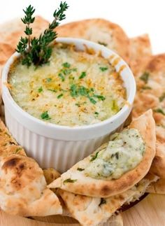 Hot Artichoke Dip -  This dip is SO easy to throw together and has such a great taste!  I LOVE artichokes!  Whenever I have made this dip, it gets eaten quickly!