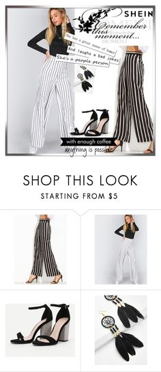 """""""SHEIN3/3"""" by mersy-123 ❤ liked on Polyvore featuring WALL"""
