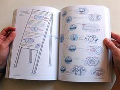 """""""Penser en images"""" de Vanina Gallo (Éditions Mango). Composez votre propres modèles de réflexion."""