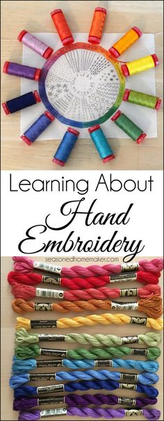 Hand Embroidery 101 - SEWTORIAL
