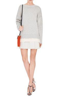Oversized Cotton-Blend Sweater by Derek Lam 10 Crosby - Moda Operandi