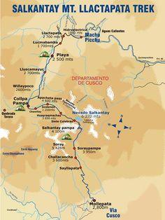 Salkantay Mt. Llacatapata Trek via SAS Travel