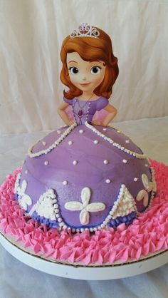 Princess Sophia birthday cake Pinteres